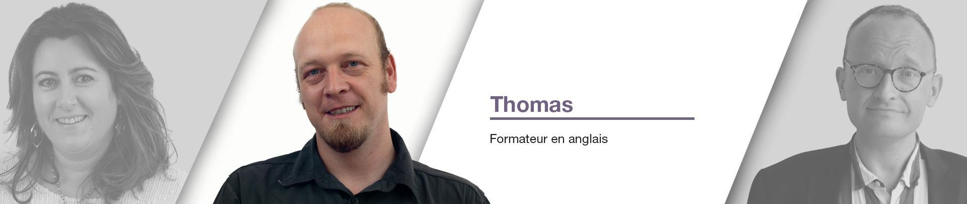 Thomas Throup - Formateur en anglais