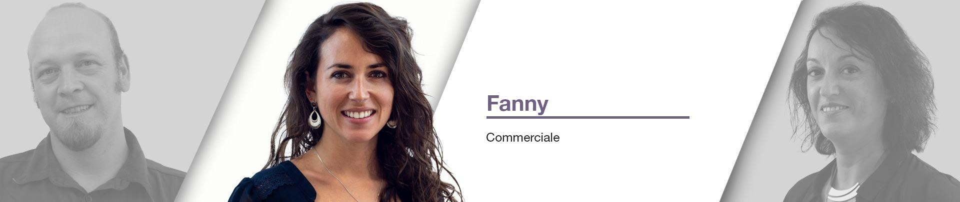 Fanny - responsable service Commercial