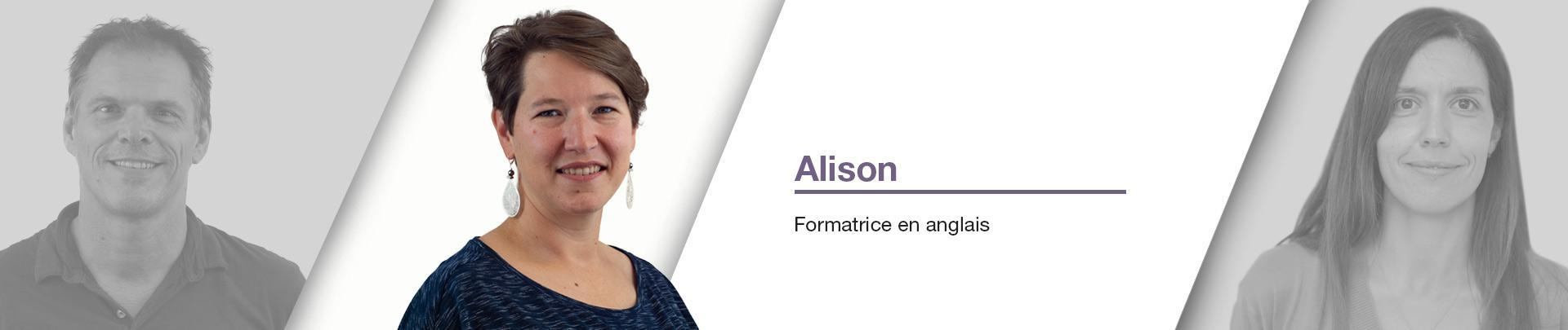 Alisson Carberry - Formatrice en anglais