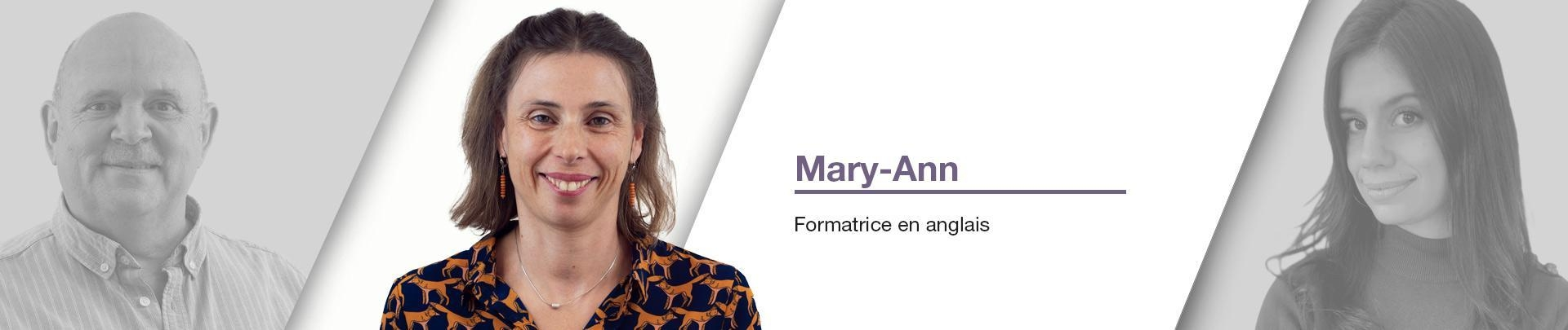 Mary-Anne - Formatrice en anglais